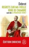 Denis Diderot - Regrets sur ma vieille robe de chambre - suivi de la promenade Vernet.