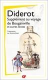 Denis Diderot - Supplément au voyage de Bougainville et autres textes.