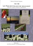 Denis Dujardin et Caroline Dujardin - 14-18, le Pas-de-Calais se souvient - Guide des cimetières militaires du département.