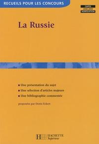 Denis Eckert - La Russie - Capes 2007-2008,agrégation.