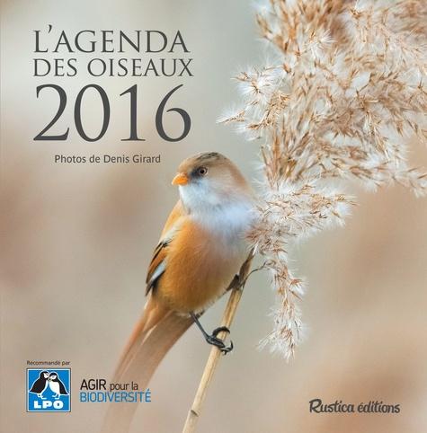 L'agenda des oiseaux 2016