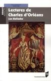 Denis Hüe - Lectures de Charles d'Orléans - Les Ballades.