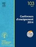 Denis Huten - Conférences d'enseignement 2014.