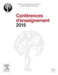 Denis Huten et Patricia Thoreux - Conférences d'enseignement 2015.