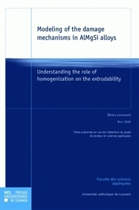 Lesmouchescestlouche.fr Modeling of the damage mechanisms in ALMgSi alloys - Understanding the role of homogenization on the extrudability Image