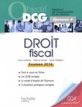 Denis Lefèvre et Thierry Vachet - Droit fiscal - Epreuve 4, examen 2014.