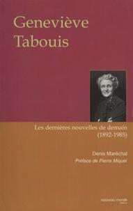 Denis Maréchal - Geneviève Tabouis.