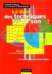 Galabria.be Le livre des techniques du son - Tome 2, La technologie Image