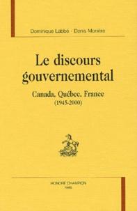 Denis Monière et Dominique Labbé - .