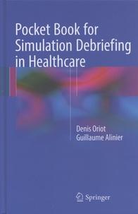 Deedr.fr Pocket Book for Simulation Debriefing in Healthcare Image