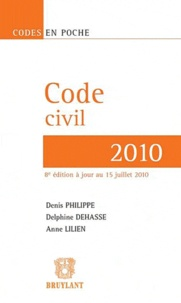 Ucareoutplacement.be Code civil 2010 Image