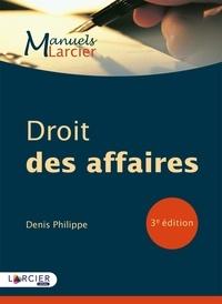 Denis Philippe - Droit des affaires.