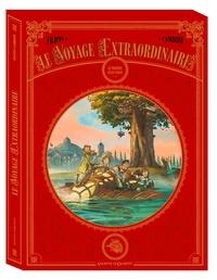 Denis-Pierre Filippi et Silvio Camboni - Le voyage extraordinaire Cycle 1 : Le Trophée Jules Verne - Coffret en 3 volumes : Tomes 1 à 3.