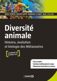 Diversité animale- Histoire, évolution et biologie des métazoaires - Denis Poinsot   Showmesound.org
