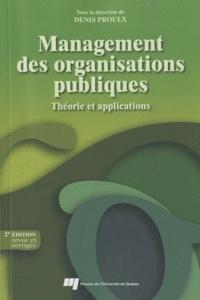 Feriasdhiver.fr Management des organisations publiques - Théorie et applications Image