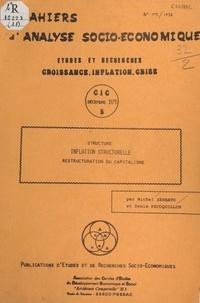 Denis Recoquillon et Michel Zerbato - Structure, inflation structurelle, restructuration du capitalisme.