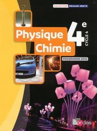 Denis Regaud et Gérard Vidal - Physique-Chimie 4e - Programme 2016.