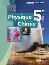 Denis Regaud et Gérard Vidal - Physique-Chimie 5e - Programme 2016.