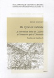 Denis Rousset - Fouilles de Xanthos - Volume 10, De Lycie en Cabalide : la convention entre les Lyciens et Termessos près d'Oinoanda.