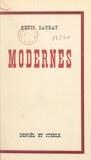 Denis Saurat - Modernes.