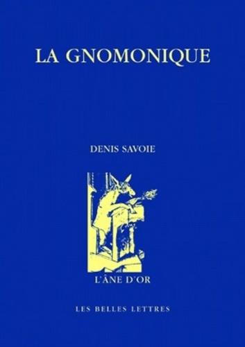 Denis Savoie - La gnomonique.