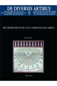 Denis Savoie - Recherches sur les cadrans solaires.