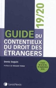 Guide du contentieux du droit des étrangers - Denis Seguin pdf epub