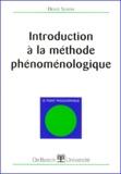 Denis Seron - Introduction à la méthode phénoménologique.