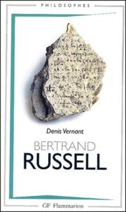 Denis Vernant - Bertrand Russell.