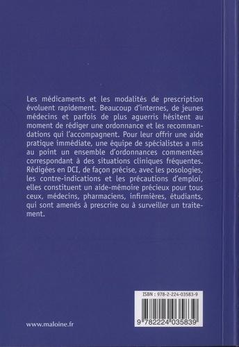 Ordonnances. 190 prescriptions courantes en médecine  Edition 2020