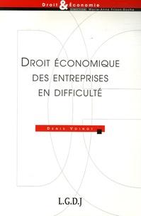 Denis Voinot et Marie-Anne Frison-Roche - Droit économique des entreprises en difficulté.