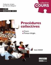Denis Voinot - Procédures collectives 2013.