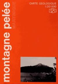 Denis Westercamp et Hervé Traineau - Carte géologique de la montagne Pelée (Martinique) - 1/20 0000.