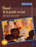 Denise Chauvel et Isabelle Lagoueyte - Manuel de la grande section - Cycle des apprentissages fondamentaux, Maternelle GS. 1 CD audio