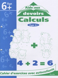 Denise Coble - Calculs - Cahier d'exercices avec autocollants.