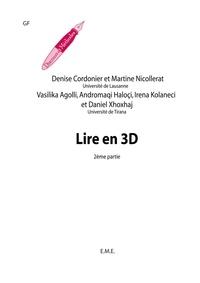 Denise Cordonier - Lire en 3D - Fasc. 2.