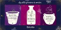 Denise Crolle-Terzaghi - Mes petits grimoires de sorcière - Coffret 3 livres.