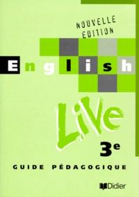 Lemememonde.fr ENGLISH LIVE 3EME LV1. Guide pédagogique Image