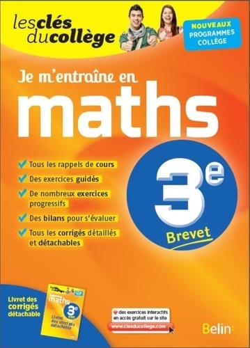 Je M Entraine En Maths 3e