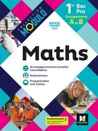 Deedr.fr Mathématiques 1re Bac Pro Groupements A et B - Livre élève Image
