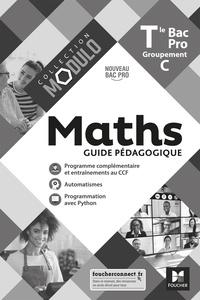 Denise Laurent et Fabien Auchère - Maths Tle Bac Pro Groupement C Modulo - Guide pédagogique.