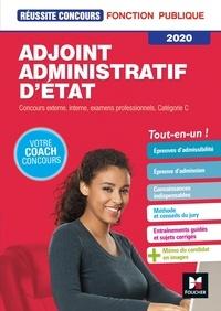 Denise Laurent et Bruno Rapatout - Réussite Concours - Adjoint Administratif d'Etat - Catégorie C -  2020 - Préparation complète.