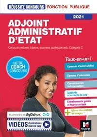 Denise Laurent et Bruno Rapatout - Réussite Concours - Adjoint Administratif d'Etat - Catégorie C -  2021- Préparation complète.