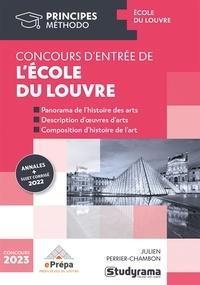 Denise Maréchal - Réussir le concours d'entrée en premier cycle de l'école du Louvre - Annales 2017 et 2018.