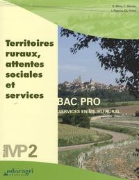 Denise Menu et Yvon Morvan - Territoires ruraux, attentes sociales et services - Module MP2 Bac professionnel, Services en milieu rural.