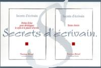 Denise Morel - Secrets d'écrivain Coffret 2 volumes - Petites fiches pour développer le style et le plaisir d'écrire, Textes choisis.