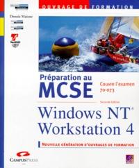 Lemememonde.fr PREPARATION AU MCSE WINDOWS NT WORKSTATION 4. Examen 70-073, 2ème édition avec CD-Rom Image