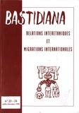 Denys Cuche - Relations interethniques et migrations internationales - n°23-24 juillet-décembre 1998.