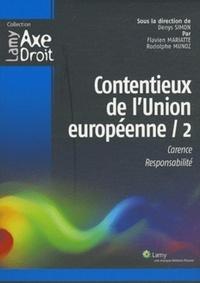 Histoiresdenlire.be Contentieux de l'Union européenne 2 - Carence, responsabilité Image