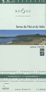 Département du Rhône - Terres de l'Est et du Velin - 1/25 000.